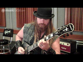 VIDEO: Zakk Wylde's Epiphone Graveyard Disciple guitar in action