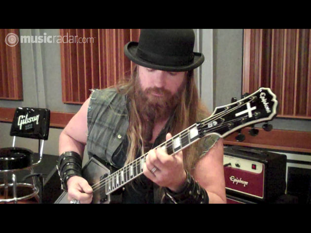 Resplendent in a bowler, Zakk Wylde gets mean with his Graveyard Disciple