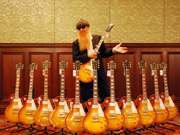 Billy Gibbons - Gimme All Your Lovin', Eliminator by ZZ Top (1983)
