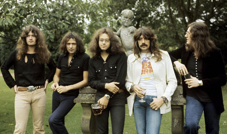 Deep purple in 1973