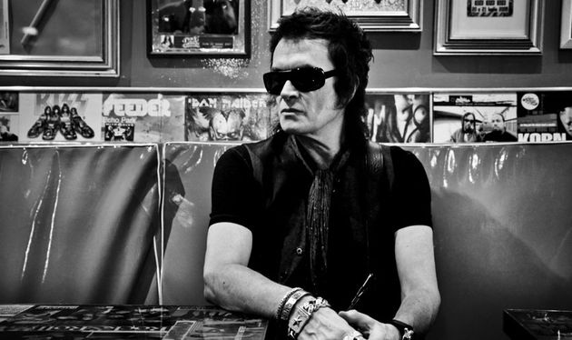 Glenn Hughes, photographed in Italy in 2011