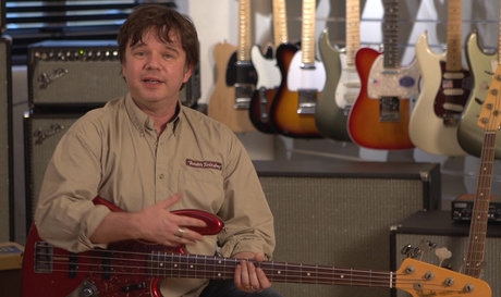 Fender product demo still
