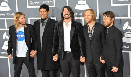 Foo fighters at the 2012 grammys