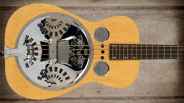 A resonator bass that will catch your eyes and your ears