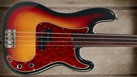 Cool and classic basses: Fender Standard Precision Fretless