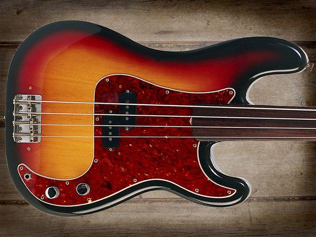 Fender Standard Precision Fretless