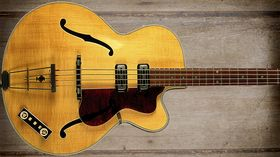 Cool and classic basses: Hofner President Bass 500/5