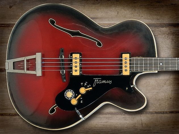 The Framus Star bass was a favourite of Rolling Stone Bill Wyman