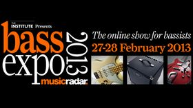 Don't miss the MusicRadar Bass Expo 2013