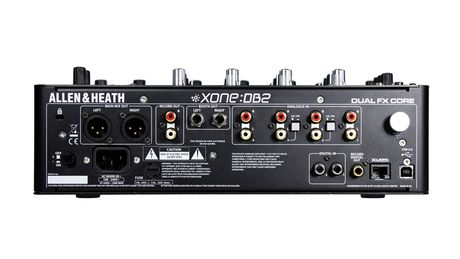 The DB2 includes a built-in USB soundcard, MIDI control, Xone Filters and X:Link connectivity