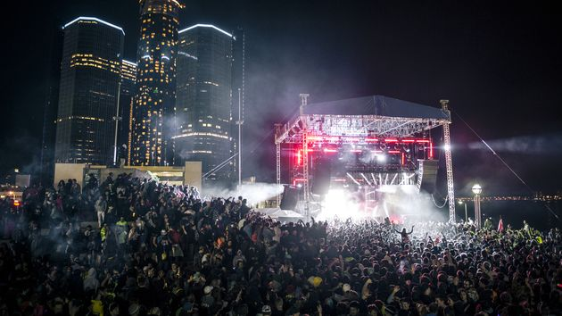 Beatport Stage at Movement Detroit 2013.