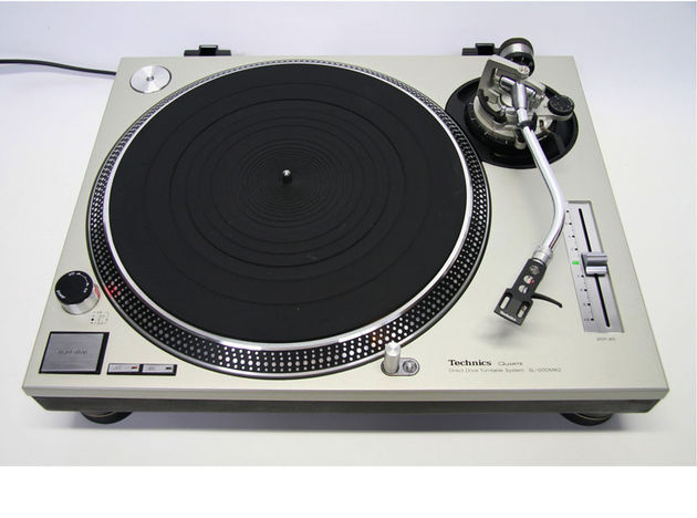 The Technics SL-1200MK2 turntable