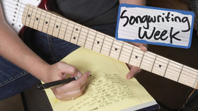 Songwriting week on MusicRadar