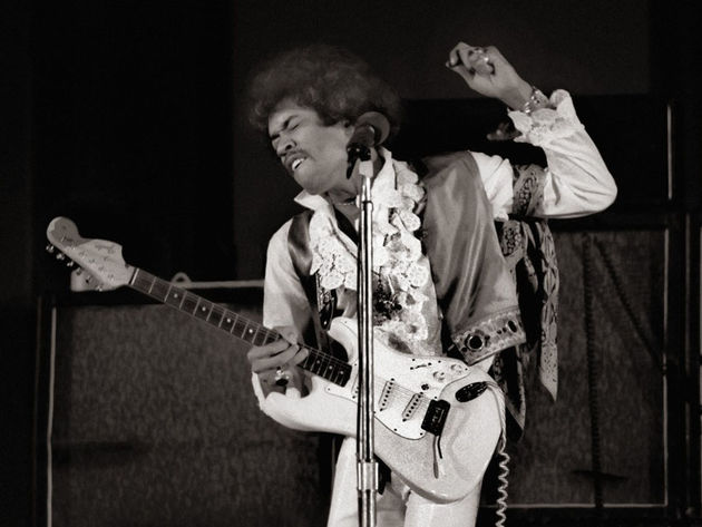 Jimi Hendrix - The Showboater / Régulier du bar Showboat Lounge