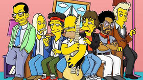 10 guitar hero Simpsons cameos
