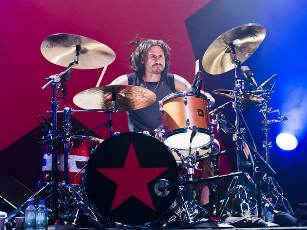 Wilk at the kit for RATM