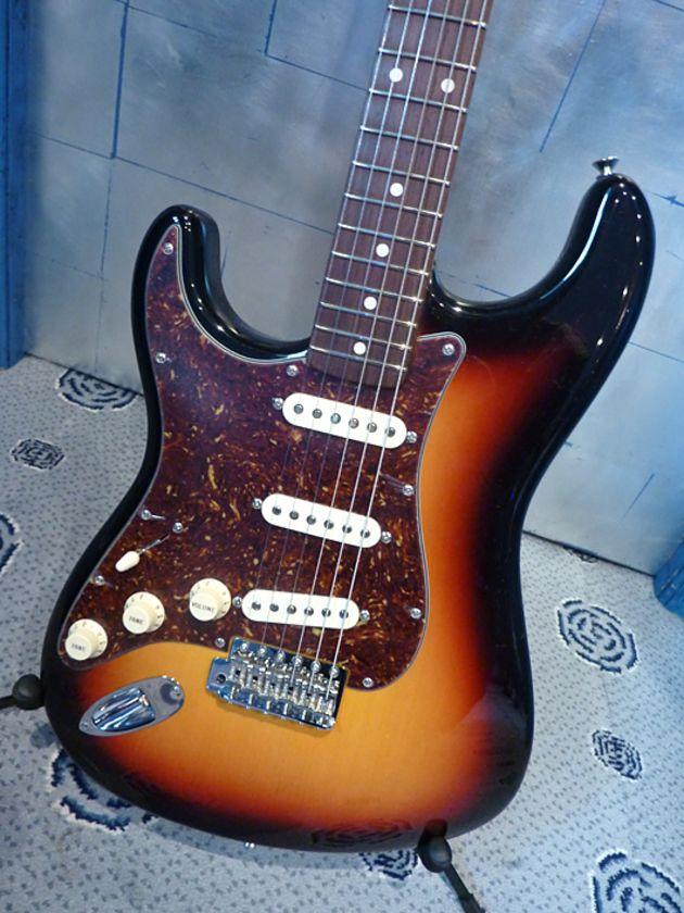 Left-handed NOS 1960 Stratocaster