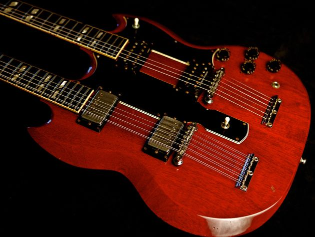 Jimmy Page – 1968 Gibson EDS 1275 – SG Double Neck