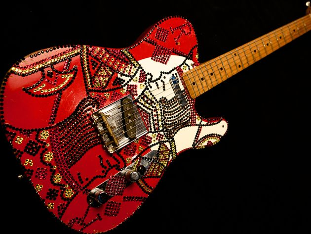 "Rick Nielsen – Fender Telecaster – ""Rick of Diamonds"""