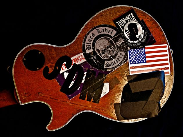 "Zakk Wylde – 1989 Gibson Les Paul – ""The Rebel"""