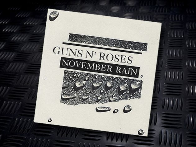 Guns N' Roses - November Rain (Slash)