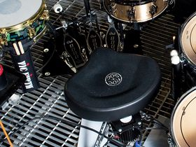 Thirty Seconds To Mars' drum setup in pictures