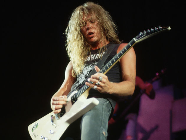 James Hetfield - Orion, Master Of Puppets (1986)
