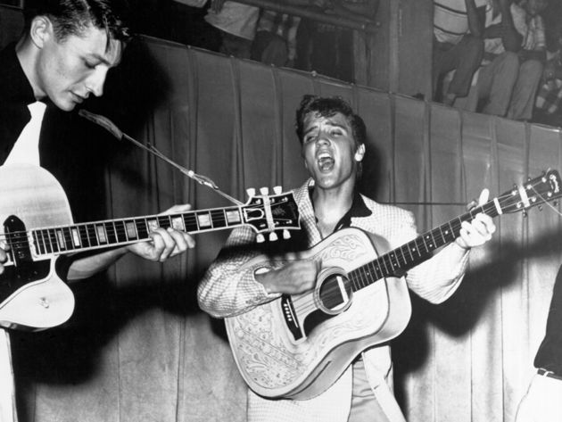 Scotty Moore - Hound Dog, Greatest Jukebox  Hits by Elvis Presley (1956)