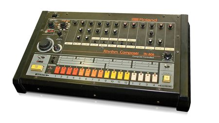 Synth icons: Roland TR-808 drum machine