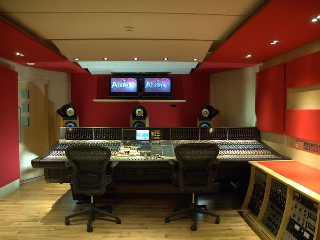 Studio Two control room