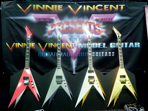 Vinnie Vincent Guitarmageddon Guitars