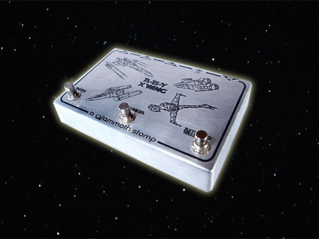 Steven stays on target with the A-B-Y X Wing ABY amp switch