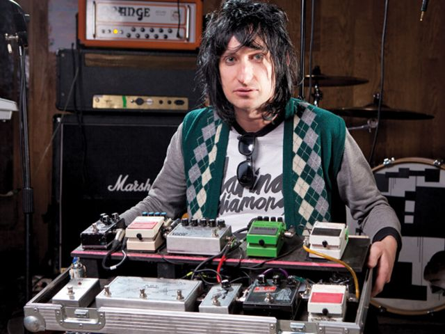 Steven Battelle shows off his force-powered pedals
