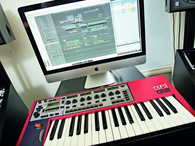 Apple iMac and Nord Modular G2