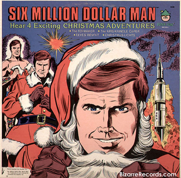 Six Million Dollar Man - Exciting Christmas Adventures