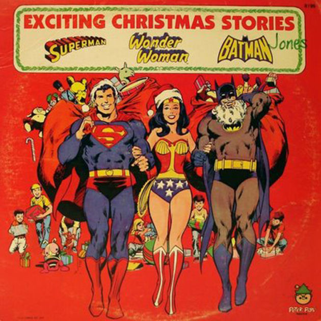 DC Superheroes - Exciting Christmas Stories