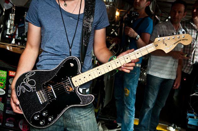 Custom Fender Telecaster Deluxe