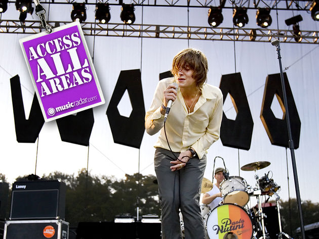 Paolo Nutini at the 2007 Voodoo Music Experience in New Orleans