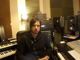 Me in my studio: Ade Fenton