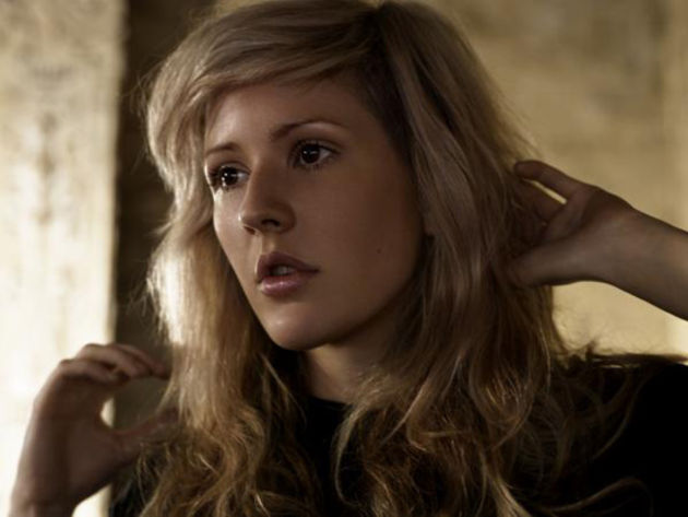 Ellie Goulding: you'll be seeing a lot of her this year.