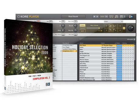 Native instruments holiday selection 2009