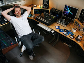 In pictures: Alan Braxe's home studio
