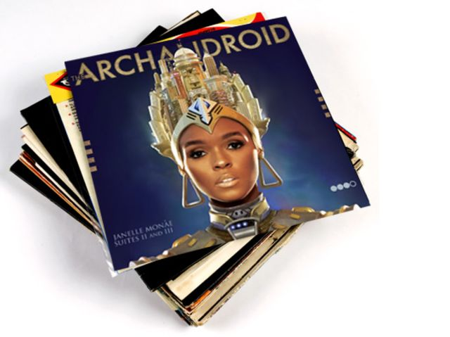 Janelle Monáe - The ArchAndroid (Suites II & III)