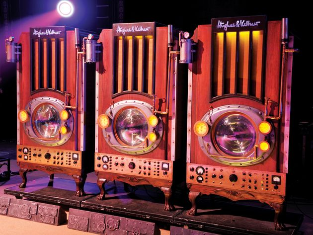 Alex Lifeson's Time Machine live rig