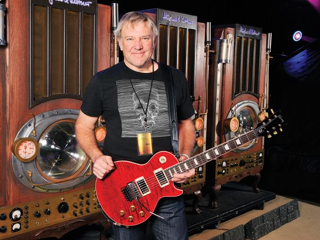 Gibson Custom Alex Lifeson Les Paul Axcess