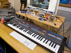 In pictures: Alex Metric's London studio