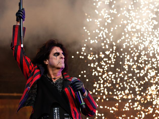 Music legend Alice Cooper talks about 12 career-defining records