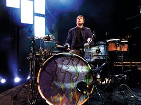 Thom Green's Alt-J drum setup in pictures