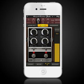 FIRST LOOK: AmpliTube Fender for iPhone