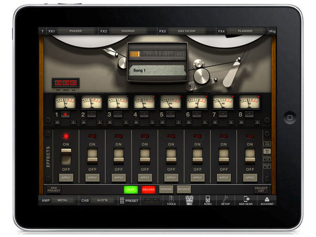 IK Multimedia AmpliTube 2 for iPad, £11.99